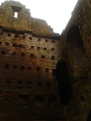 Kenilworth Castle Wall Art - Photograph - Falling by Gav