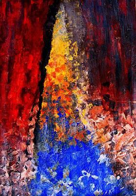Painting - Falling by Ian  MacDonald