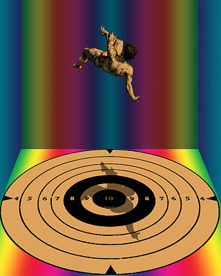 Steampunk Royalty-Free and Rights-Managed Images - Falling Man by Eric Edelman