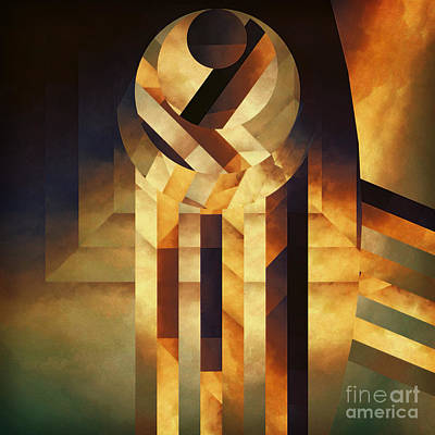 Falling Reality Art Print by Lonnie Christopher