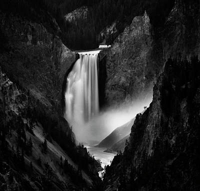 Wyoming Photograph - Falling Rivers by Yvette Depaepe
