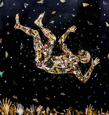 Digital Art - Falling by Photographic Art by Russel Ray Photos