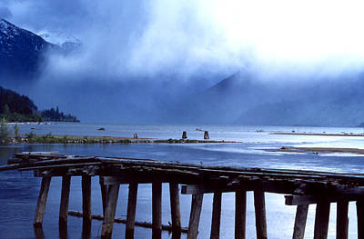 Photograph - Falling Sky At Howe Sound by Robert  Rodvik