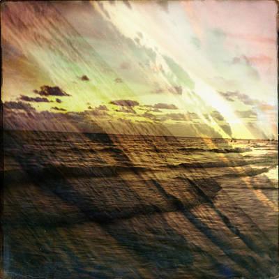 Photograph - Falling Sky Siesta Key by Alison Maddex