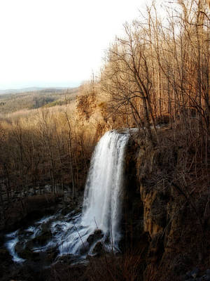 Photograph - Falling Springs Falls by Cathy Shiflett
