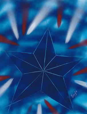 Painting - Falling Star by Jason Girard