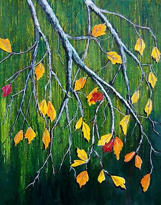 Painting - Falling by Suzanne Theis