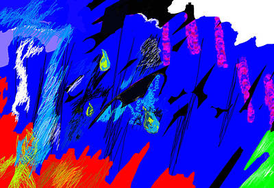 Falling Through Lightness  Original by Paul Sutcliffe