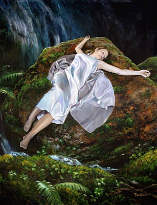 Painting - Falling by Tim Davis