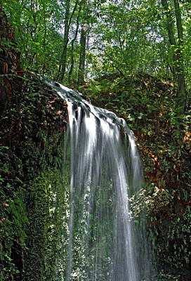 Photograph - Falling Waters. Falling Waters State Park. by Chris  Kusik