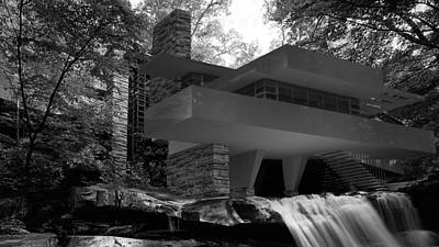 Falling Waters Art Print
