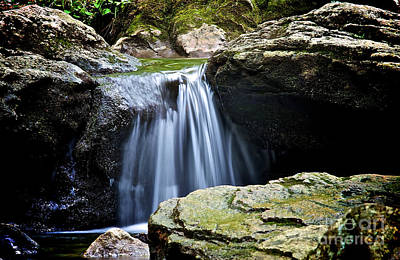 Photograph - Falling Waters by Mark Miller