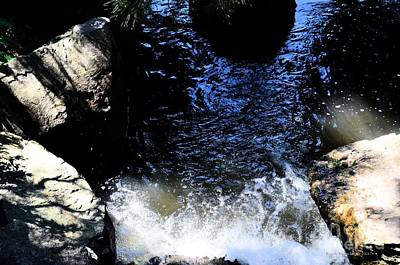 Photograph - Falling Waters by Luther Fine Art