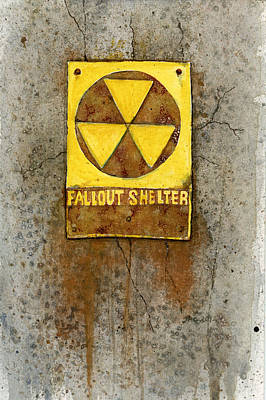 Post Apocalyptic Painting - Fallout Shelter #1 by Jennifer  Creech