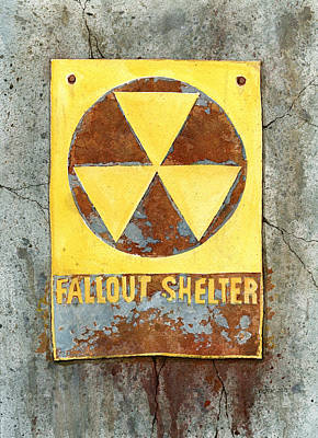 Post Apocalyptic Painting - Fallout Shelter #2 by Jennifer  Creech