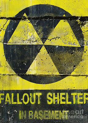 Photograph - Fallout Shelter by Emanuela Carratoni