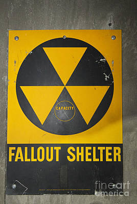 Photograph - Fallout Shelter by Jim West