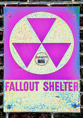 Royalty-Free and Rights-Managed Images - Fallout Shelter Wall 6 by Stephen Stookey