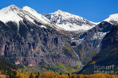 Whimsically Poetic Photographs - Falls Above Telluride by Jim Garrison