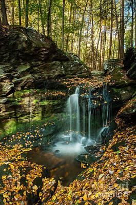 Connecticut Photograph - Falls Along The Gap by JG Coleman