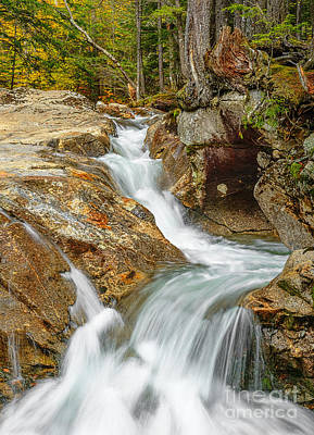 Photograph - Falls At The Basin II by Sharon Seaward