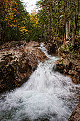 Photograph - Falls At The Basin by Keith Swango