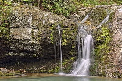Photograph - Falls Creek Falls - Lake Catherine State Park - Hot Springs - Arkansas by Jason Politte