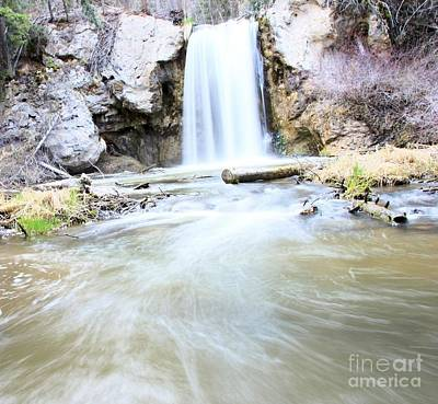 Water Droplets Sharon Johnstone - Falls In The Cariboo by Roland Stanke