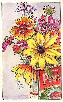 Fall's Last Bouquet Art Print