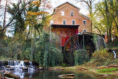 Falls Mill Art Print