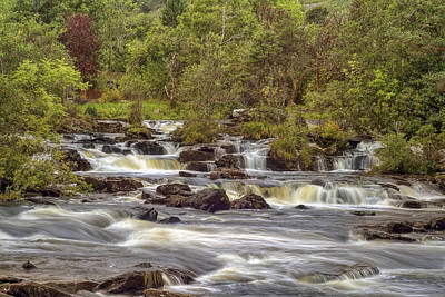 Photograph - Falls Of Dochart - Killin Scotland by Jason Politte