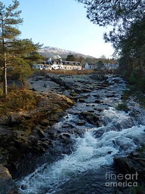 Photograph - Falls Of Dochart - Killin by Phil Banks