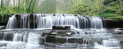 Photograph - Falls Panorama Spring by Ericamaxine Price