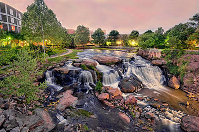 Photograph - Falls Park by Brent Craft