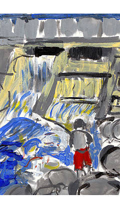 Falls Art Print by Samuel Zylstra