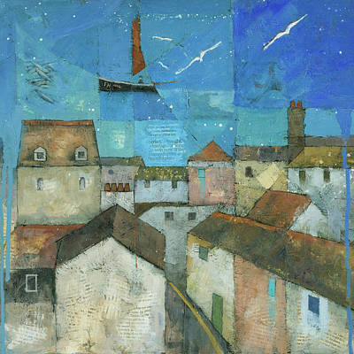 Painting - Falmouth by Steve Mitchell