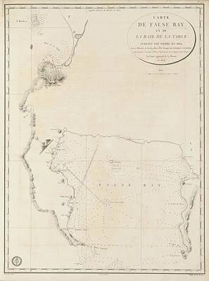 Cartography Photograph - False Bay by British Library