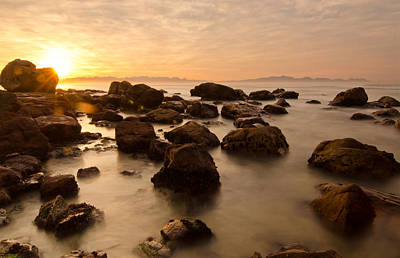Cape Town Photograph - False Bay Sunrise by Aaron Bedell