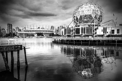 Photograph - False Creek Icons by Ross G Strachan