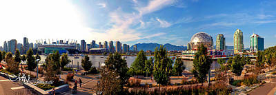 Photograph - False Creek Pano by Matt Mayer