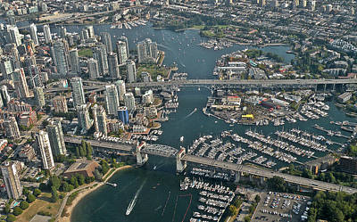 Photograph - False Creek Vancouver by Brian Chase