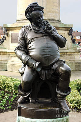 Photograph - Falstaff At The Gower Memorial Stratford Upon Avon  by Terri Waters