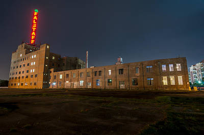 Photograph - Falstaff Brewery by Andy Crawford