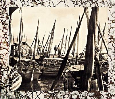Photograph - Falucas In Havana Harbor In 1898 2 by William B Townsend