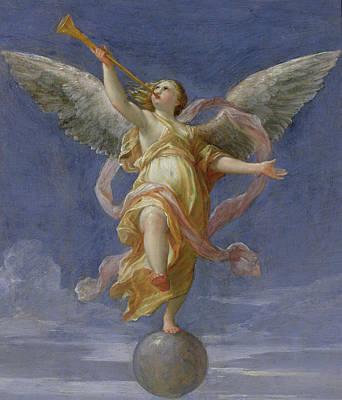 Balancing Painting - Fame by Giovanni Giacomo Sementi
