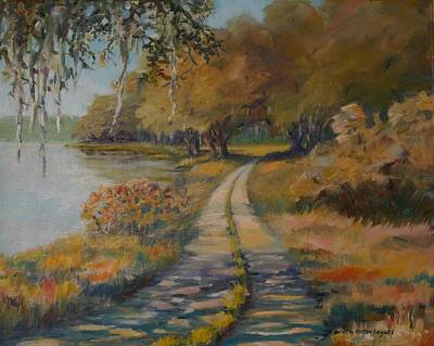 Familiar Road Art Print by Dorothy Allston Rogers