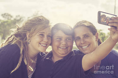 Families With Tech Gadgets Art Print by Jorgo Photography - Wall Art Gallery