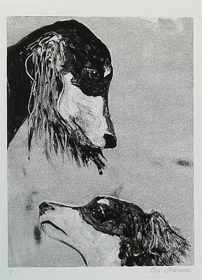 Puppies Mixed Media - Family Affair by Cori Solomon