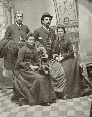 Photograph - Family, C1890 by Granger