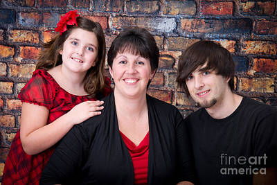 Photograph - Family Holiday Portraits by Alana Ranney